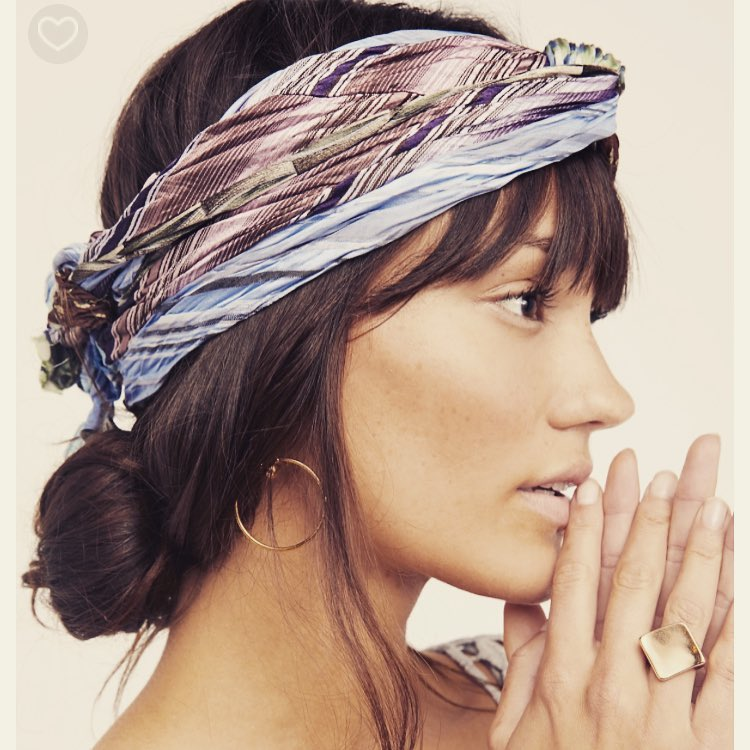 Debe Dohrer's One-Of-A-Kind Vintage Scarves Are Featured By Free People.