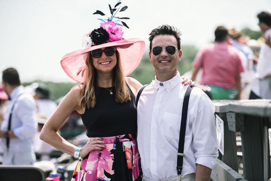 Steeplechase Danielle and Joe Breezy.JPG