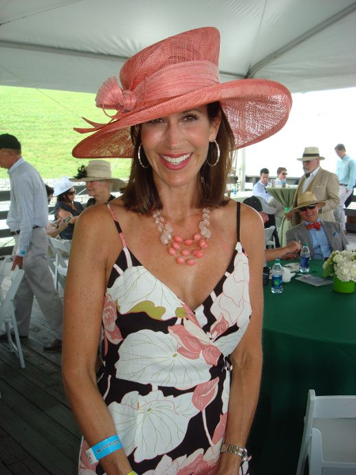 Steeplechase Salmon Hat.JPG
