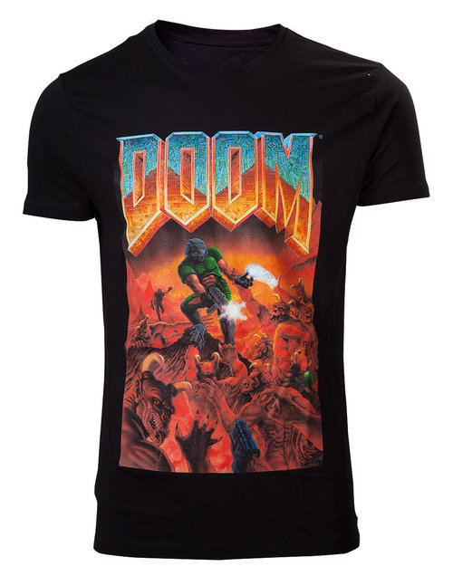 Romero Games Ltd John Romero NEW DEATHMATCH T-shirt