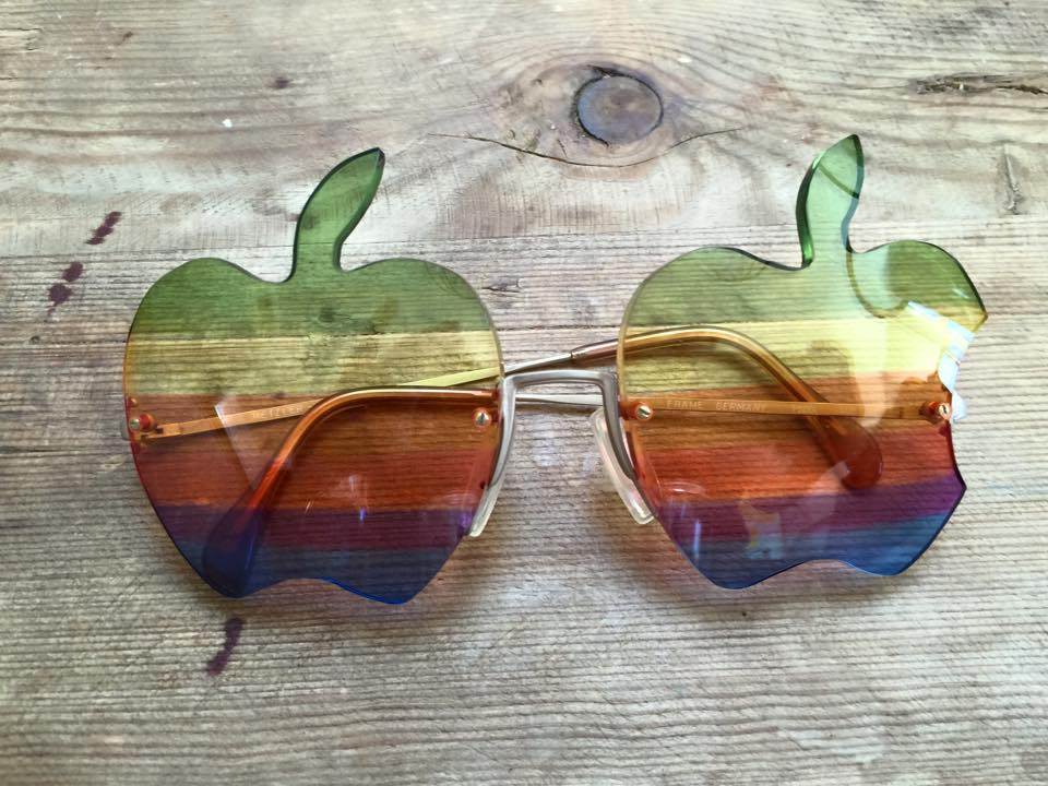 Exclusive Apple glasses created by Steve Wozniak in 1982. Only 30 pair exist.