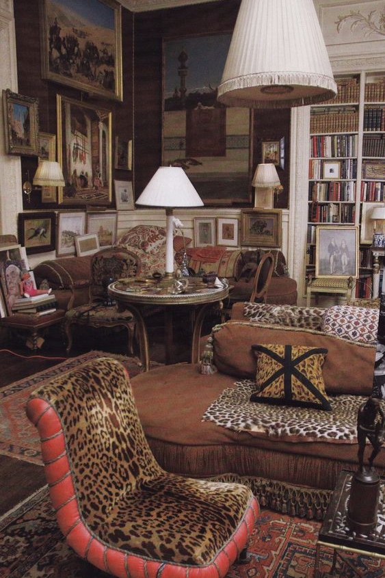 Kenneth Jay Lane. Epitome of New York Interior design of the 1980's