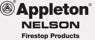 Appleton Nelson Firestop logos