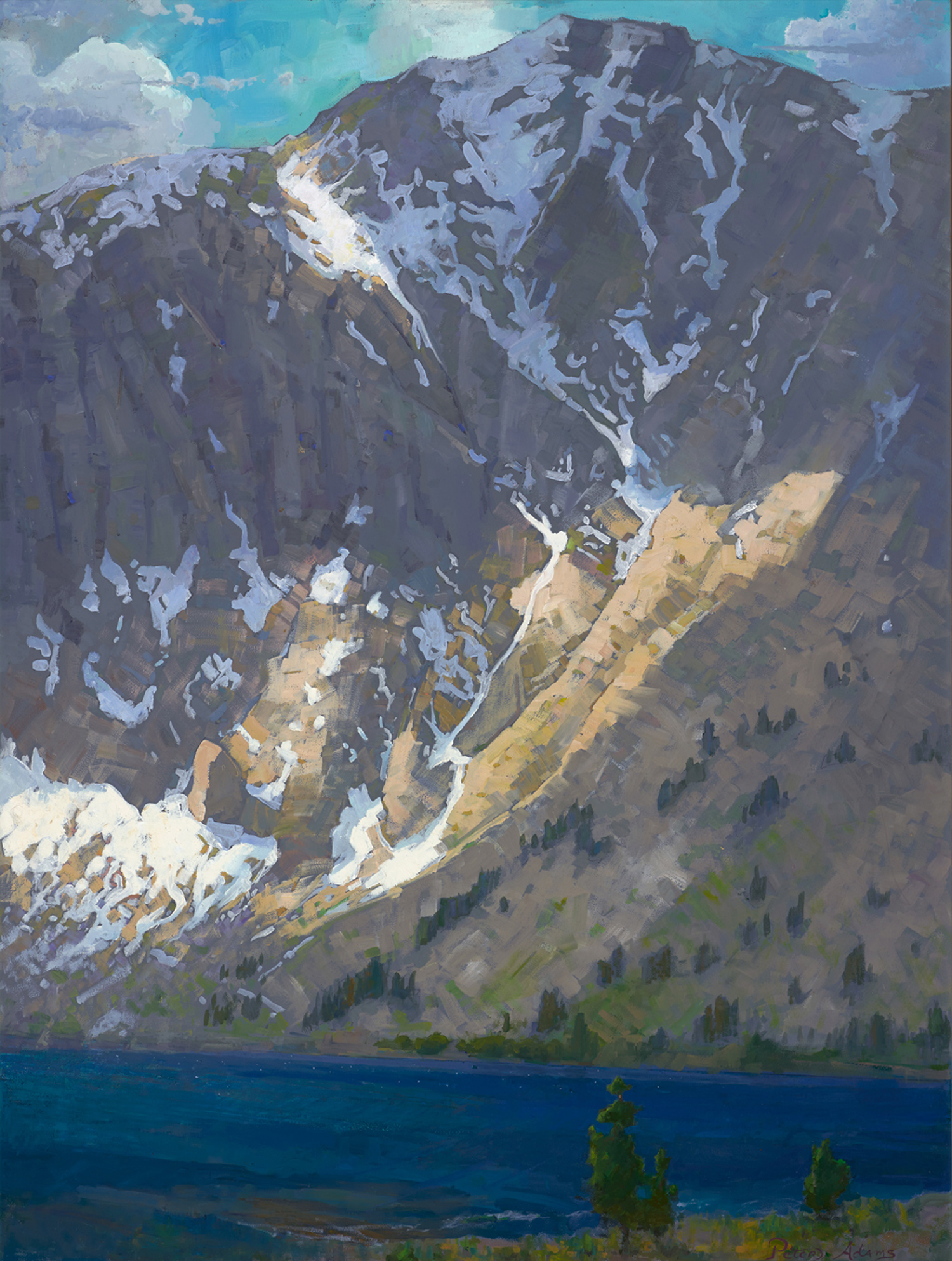 <i>Windy Afternoon, Convict Lake; Sierra Nevada</i>