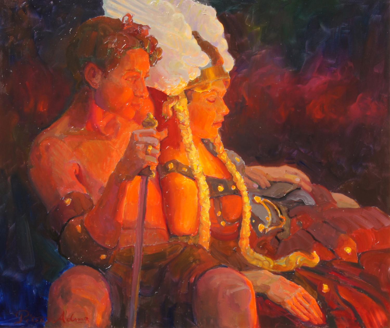 <i>Brunhilde and Siegfried</i>