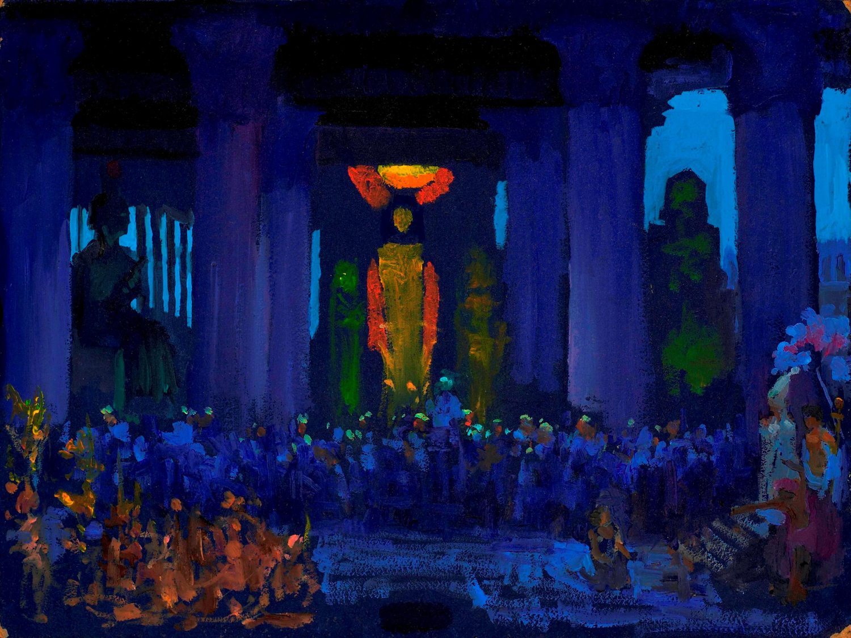 Sword of Ptah; Promotion of Radames from Verdi's 'Aida,' Act I, Scene II