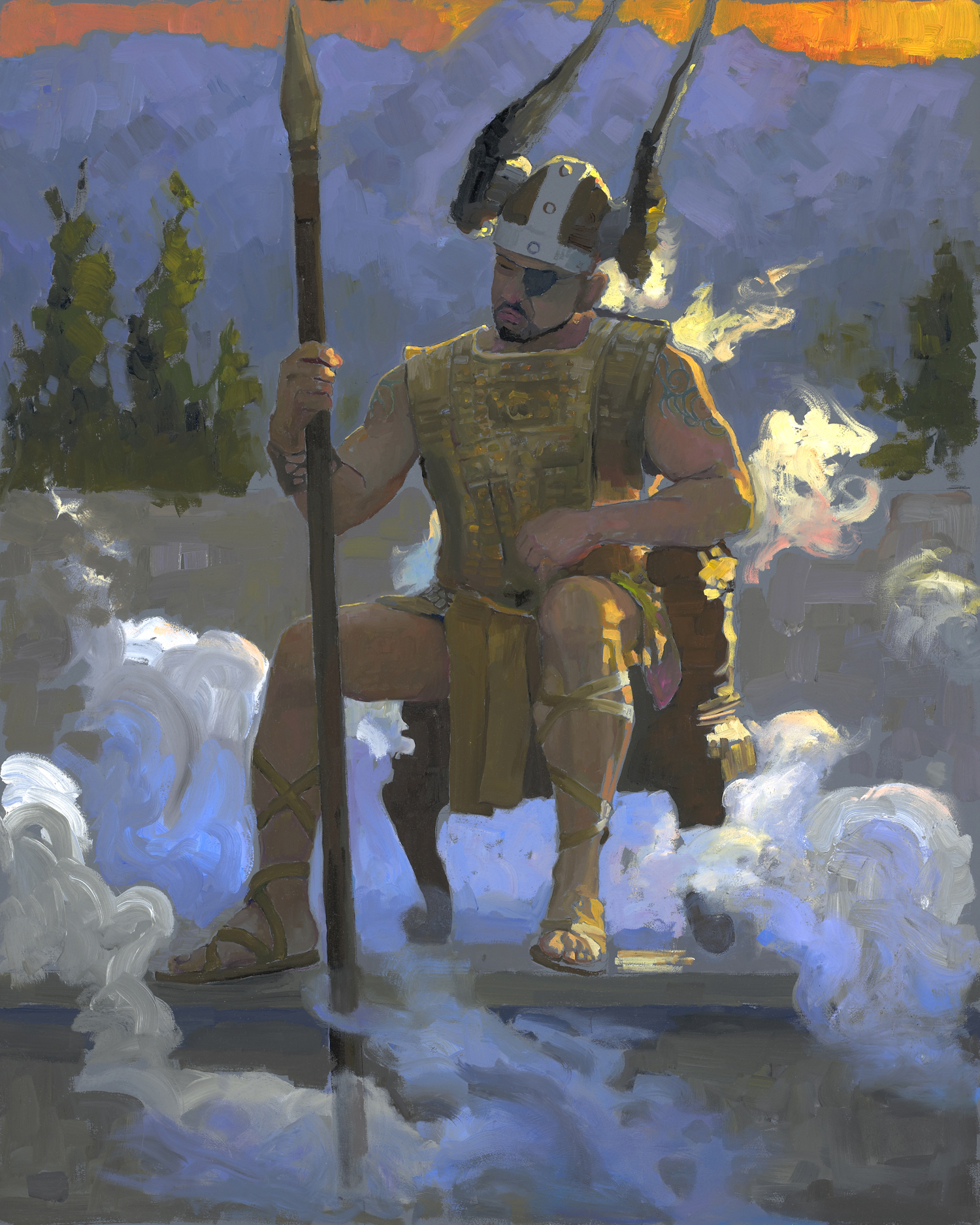 <i>Wotan in Contemplation</i>
