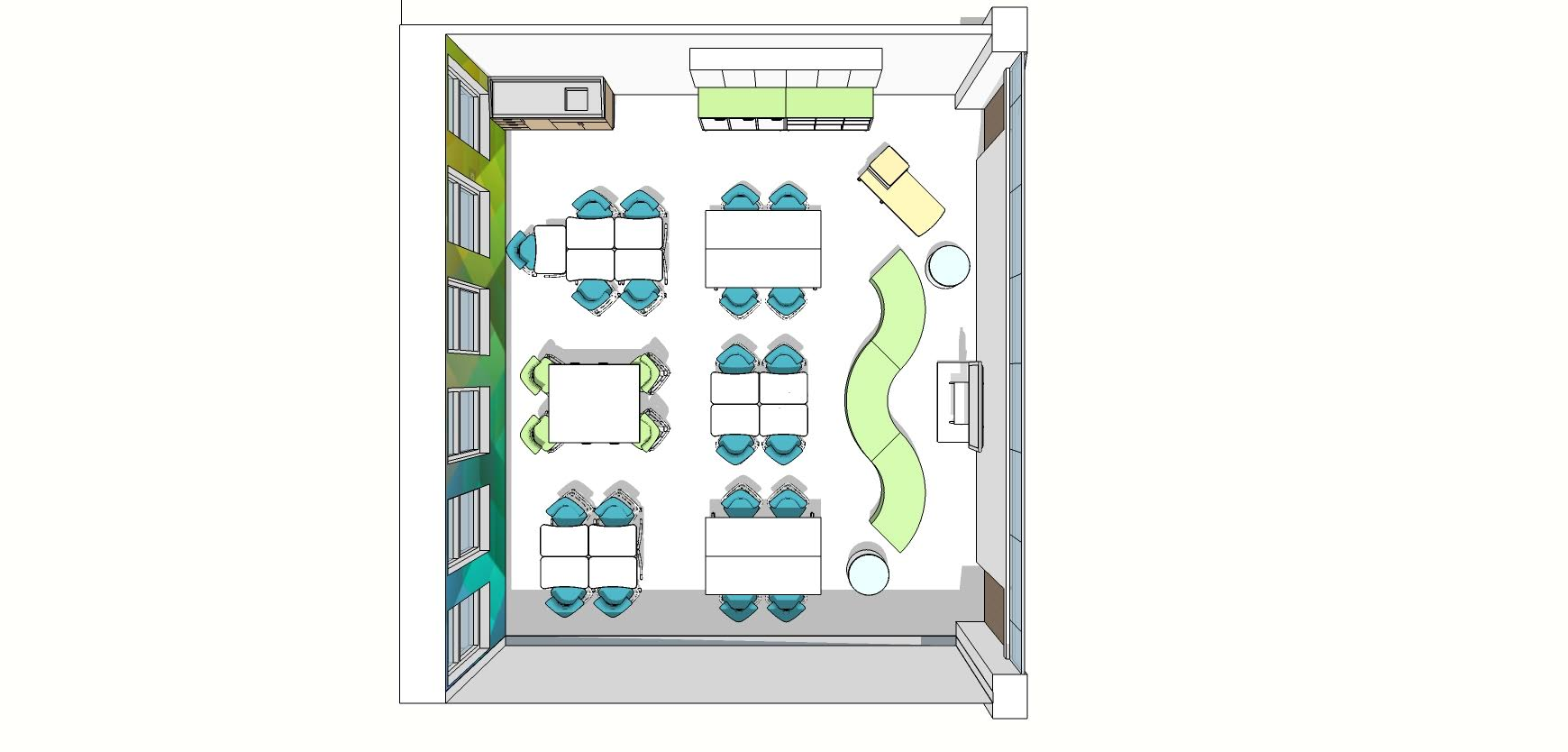 View 1- Floor Plan- cabinets added on front wall.jpg