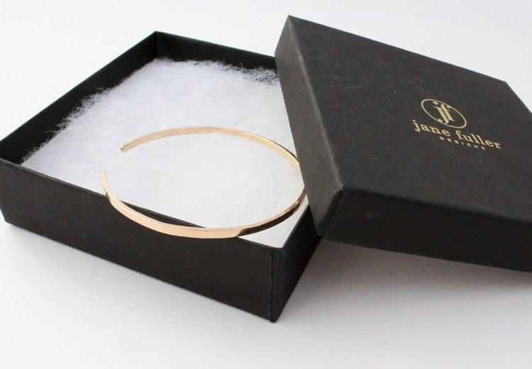 5aebf0909df 14k Solid Gold Cuff Bracelet. Hammered Gold Cuff. Thin Gold Cuff Bracelet