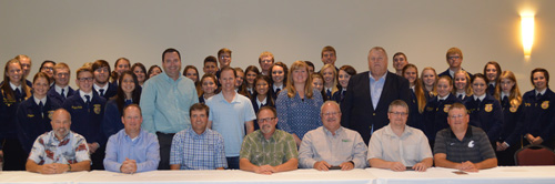Nearly 60 Washington FFA members and agriculture educators attended the 2015 Washington Agriculture Leadership Experience.