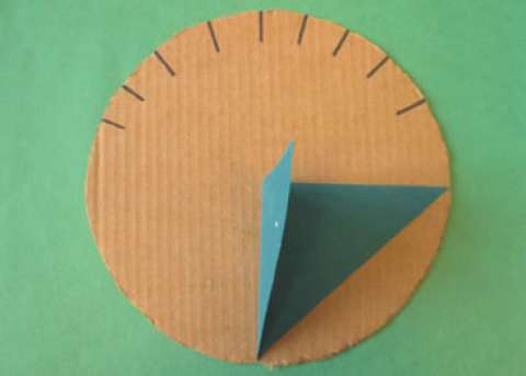 Create a Garden Sundial - An old way to tell the time was to use the sun and the shadows it cast. You can make a sundial to put in your backyard that will tell you what time it is.Materials12 inch by 12 inch piece of heavy card stockBlock of wood thumb tacksDirections1. First, take the heavy card stock and fold it corner to corner, then cut the card in half.2. Fold a flap on the bottom of the card to tack into the piece of wood.3. Attach the card to the wooden block, making sure the triangle is straight up and down.4. Place the sundial on a flat surface in the sun.5. Every hour, mark off where the shadow is cast.6. You might even want to paint a nature design on the wood block.Remember to keep the sundial facing the same direction so your hour marks will be accurate.