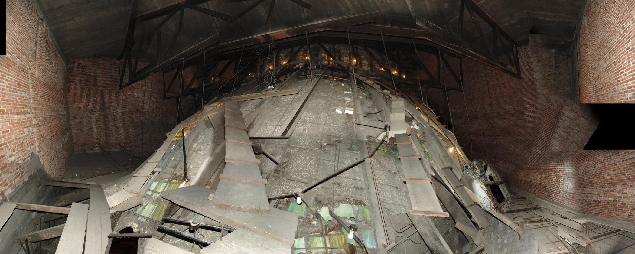 Inside The Moore Theatre Dome