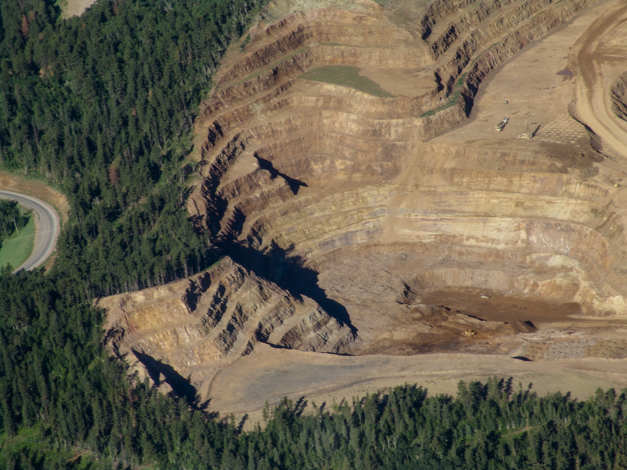 Land Reclamation (Black Hills)  Perspective can shift perception. What do you see?  Lion Eyes Can See Inside Fighting Minds . (c-print)