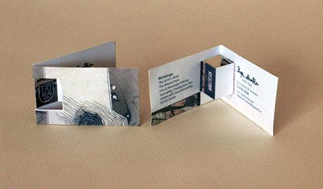 Pop Up Business Card