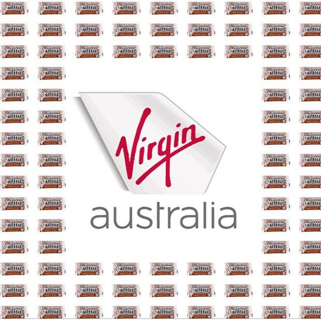 We are super excited to be flying around Australia on @virginaustralia! Keep your peepers peeled if you are in the air for a tasty little almond and coconut bar. ❤️🥥 #virginaustralia #tinkernicks