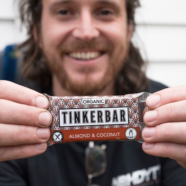 Get one of these tasty treats in your belly. The Almond & Coconut #tinkerbar will satisfy that sweet tooth, the healthy way.