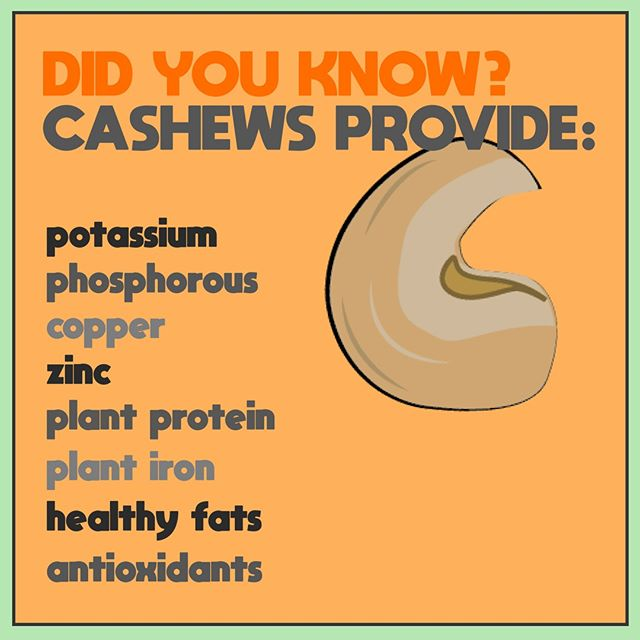 Cashews look like happy little magic beans, and they're incredibly tasty as well as packed with nutrients that your body will love! #tinkerbar
