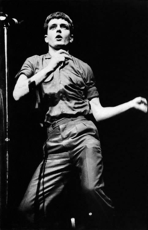 "Ian Curtis ""the epilepsy dance"""