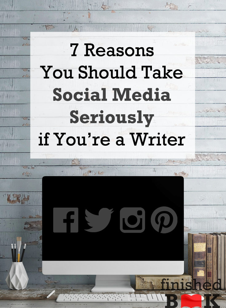 Social media needs to be taken seriously if you want to write and publish a book.
