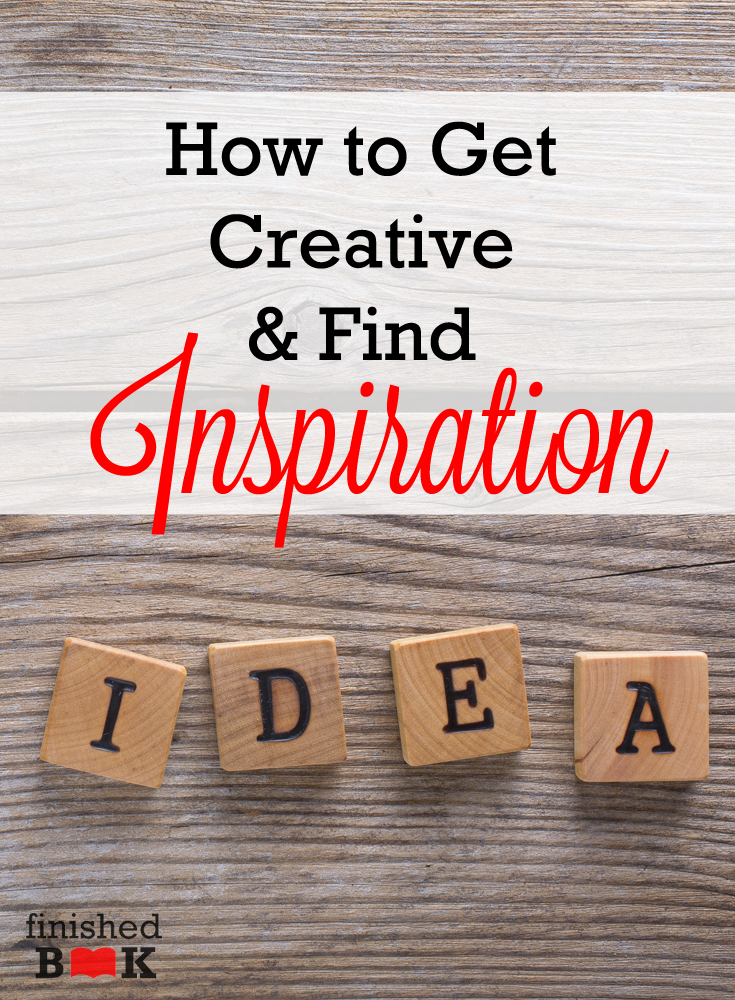 As a writer, I know all about creativity. I know how essential it is. I know how fun it can be. I also know what it's like to be at a loss for creativity. Even as a mom, creativity is important. Combine the needed creativity for being both a mom and a writer . . . well, it's tough to come by.