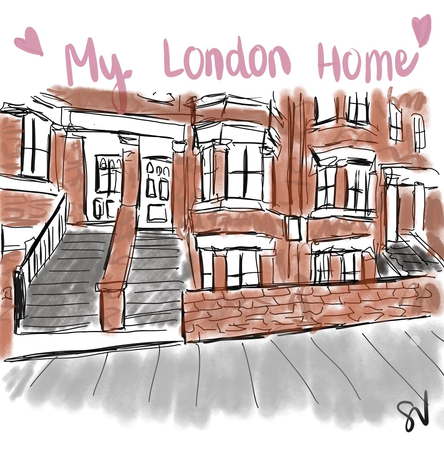 'My London Home' by me.