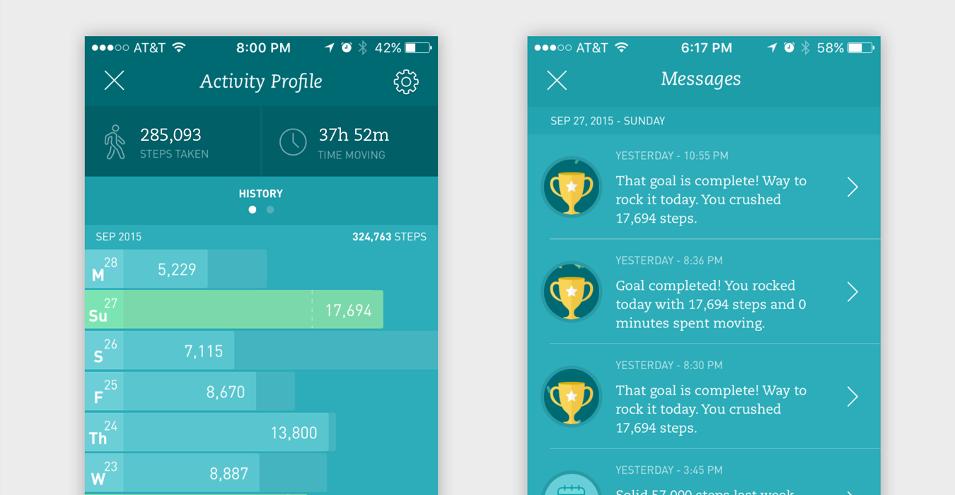 Profile & Notifications Screens