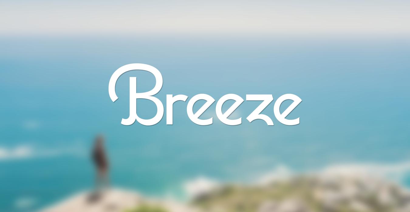 Breeze Pedometer App