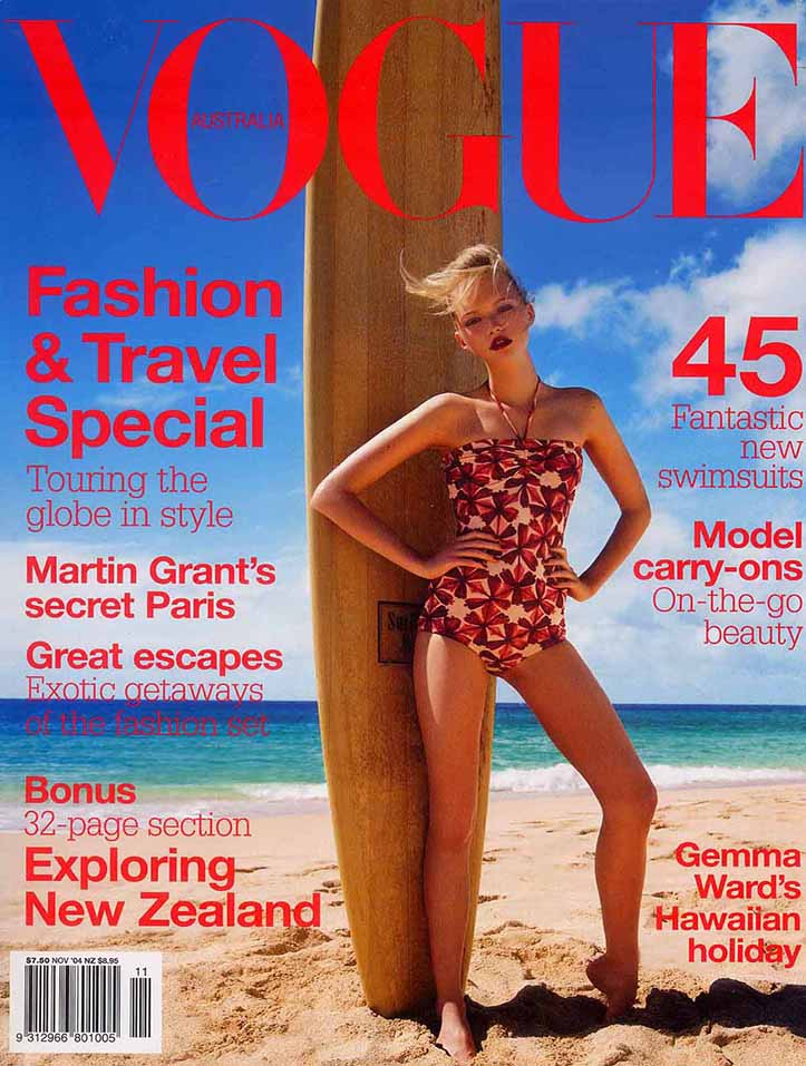 Client: VOGUE, Australia Photographer: Troyt Coburn Location: Royal Hawaiian Hotel