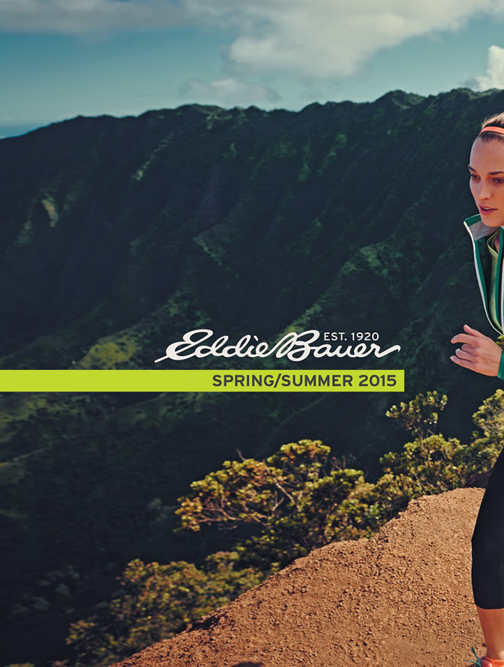 Client: Eddie Bauer Photographer: Thomas Hoeffgen Location: Waimea Canyon, Kauai