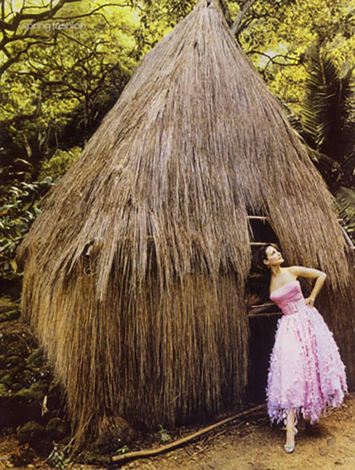 Client: InStyle Magazine Photographer: Ruven Afanador Location: Waimea Valley