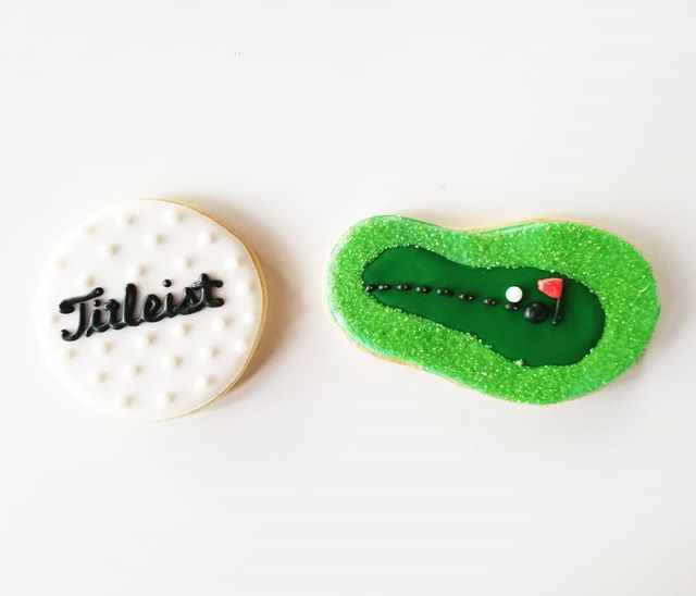 Par for the course! ⛳ #hautesweetsbakingco #occookies #ocdesserts #hautesweets