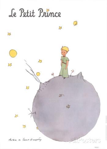 Le Petit Prince et son Asteroide AllPosters.com