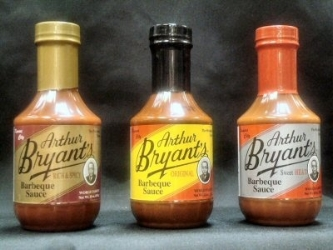 Mixed 3 - Pack of Arthur Bryant's world Famous Barbeque Sauce
