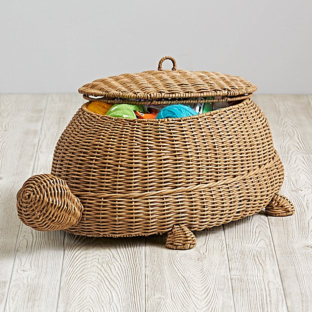 Turtle Floor Storage Bin