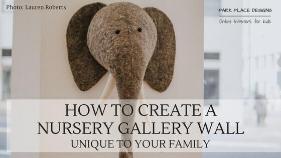 nursery gallery wall blog online interiors for kids