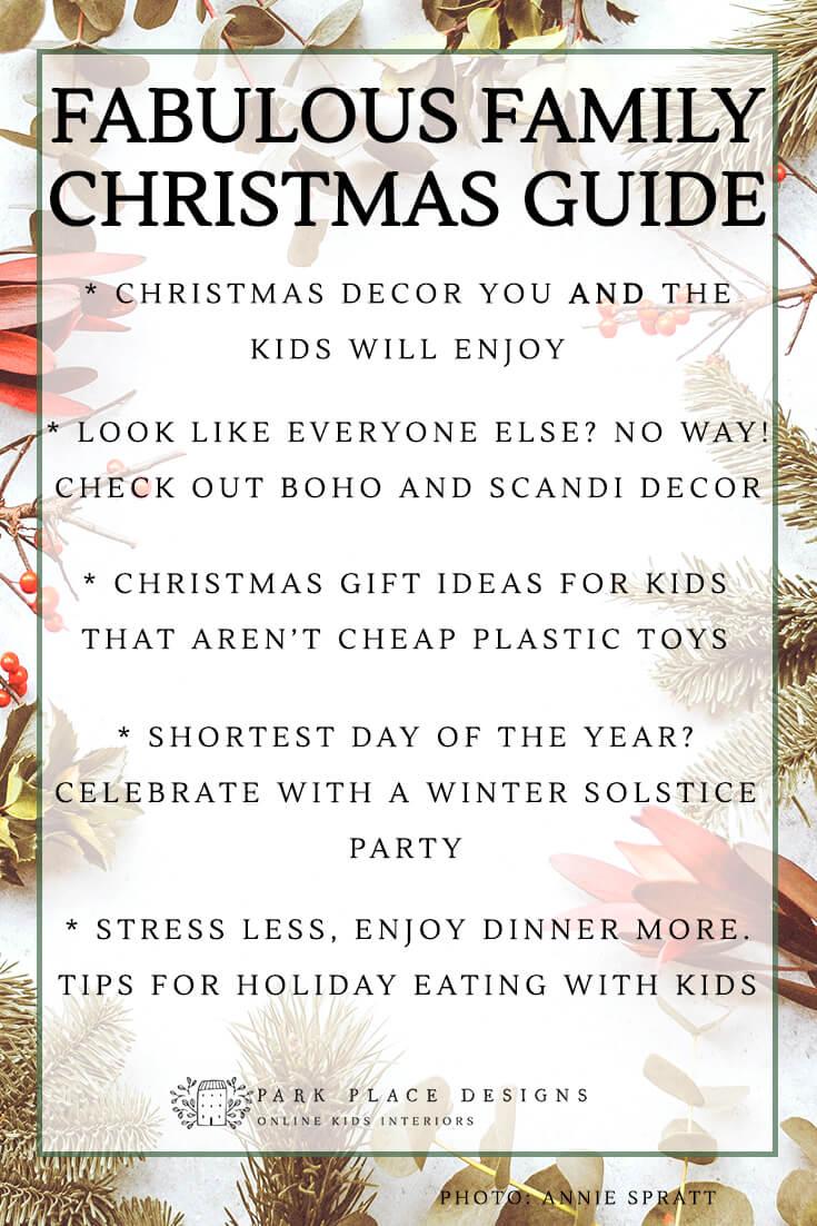 family christmas guide online kids interiors jen pollard park place designs