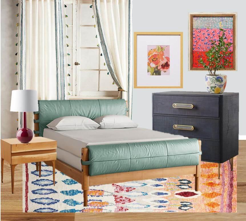 bohemian master bedroom jen pollard online kids interiors