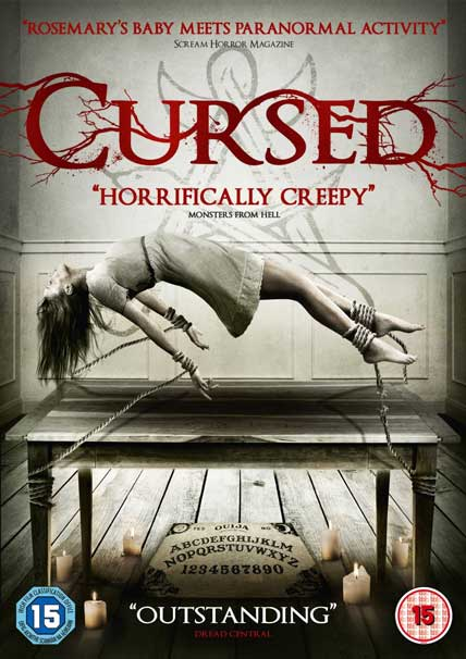 "Released in the UK as ""CURSED"""