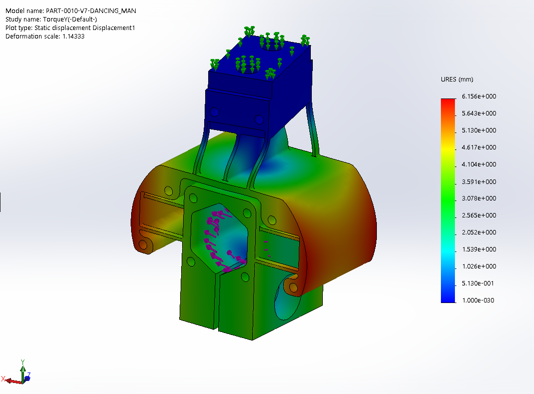 FEA for Z-Drive Flexure