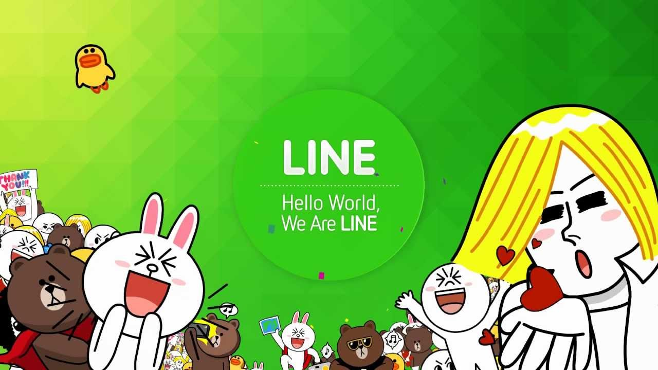 Cross cultural phenomenon - Line characters. Image credit - http-//mobilemarketingmagazine.com
