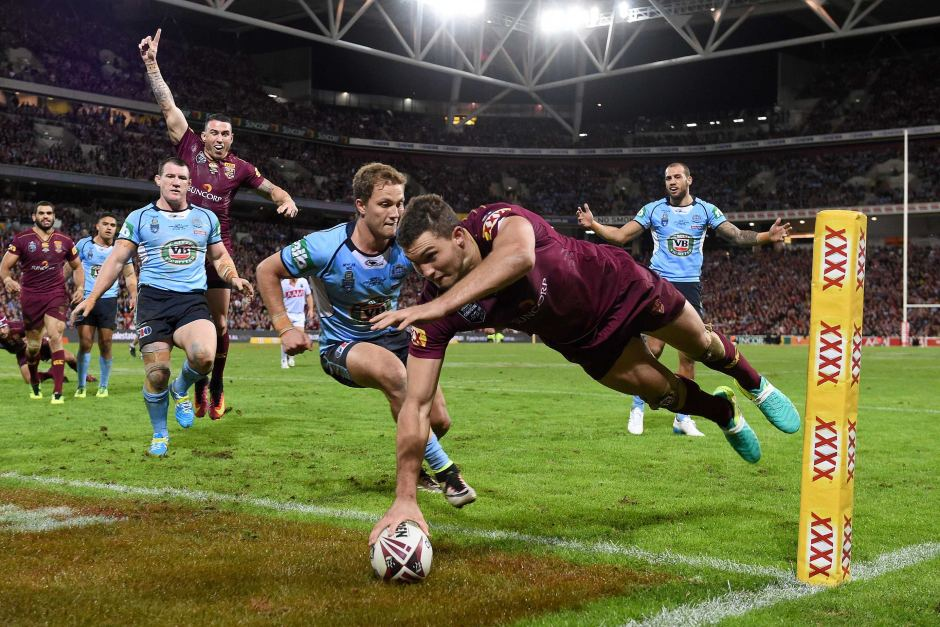 Out of four rugby league products, State of Origin is brilliant. The other products are in trouble. Image credit — abc.net.au