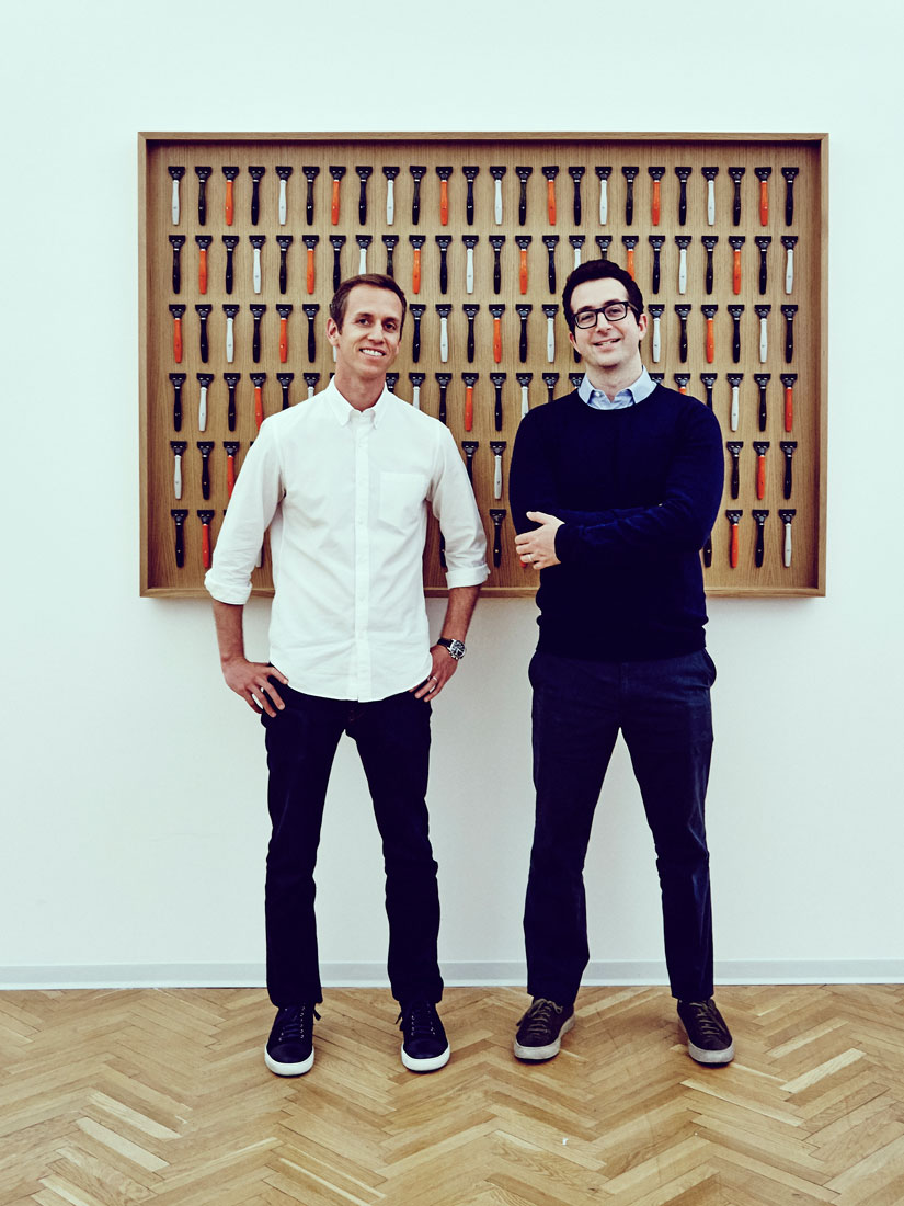 Harry's cofounders Andy Katz-Mayfield and Jeff Raider. Image credit Forbes.com