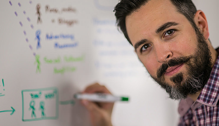 SEO wizardry with Rand Fishkin. Image credit - craftofmarketing