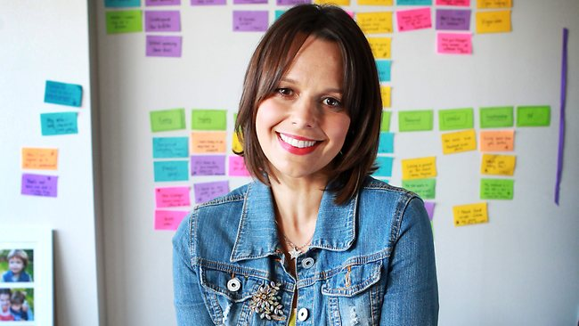 Mia Freedman says marketers need to focus on more than pink products. Image credit - applesandpearsentertainment.com.au