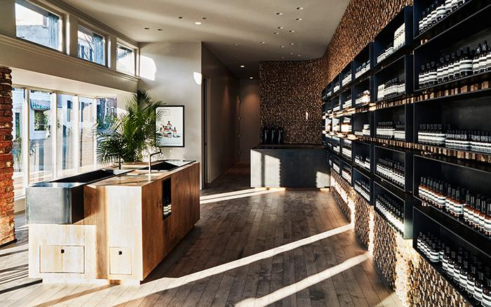 Creating a brand through beautiful store design. Image credit - aesop.com