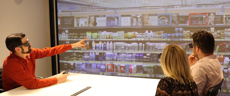 Beauty meets high tech, L'Oreal's Beauty Lab. Image credit - digiday.com