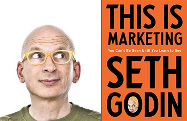 One of the world's marketing thought leaders, Seth Godin.