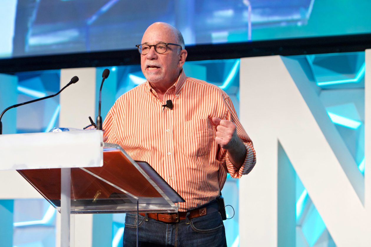 The message is more important than the medium - Bob Hoffman. Image credit - ThinkTV