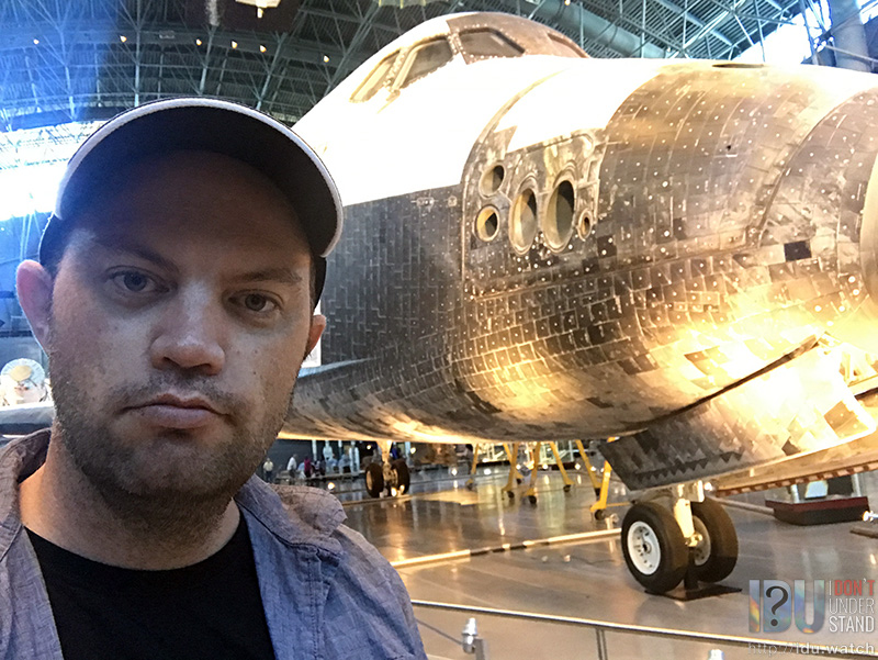 Here's Discovery, OV-103, at the Udvar-Hazy Complex of the Smithsonian Institute, near Washington D.C.'s Dulles Airport.