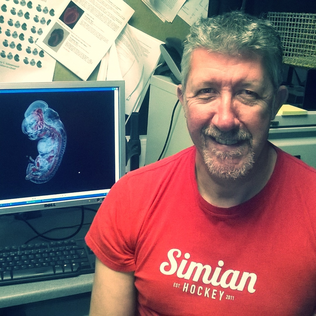 Harris Morrison  supports  epifluorescence ,  mesoscopes  and  slide-scanning . Harris also looks after our OPT   service